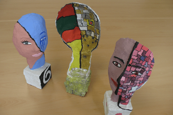 Kunst von der Conrad Ekhof Schule