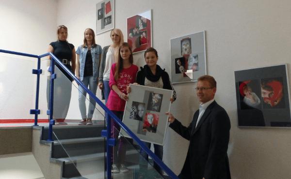 Besuch von der Conrad Ekhof Schule