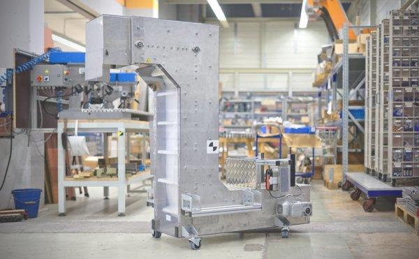 Mobiles Z-Förmiges Transportband mit Frequenzumrichter