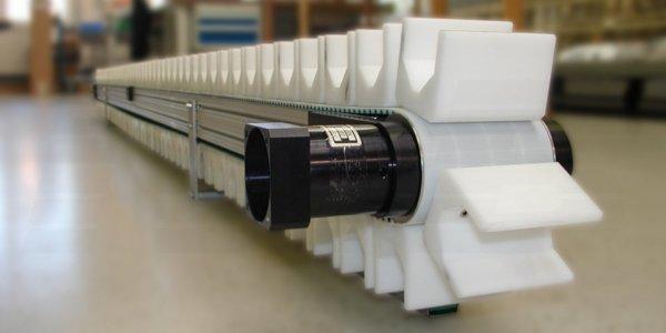 Minitrans Werkstückträger-Förderband