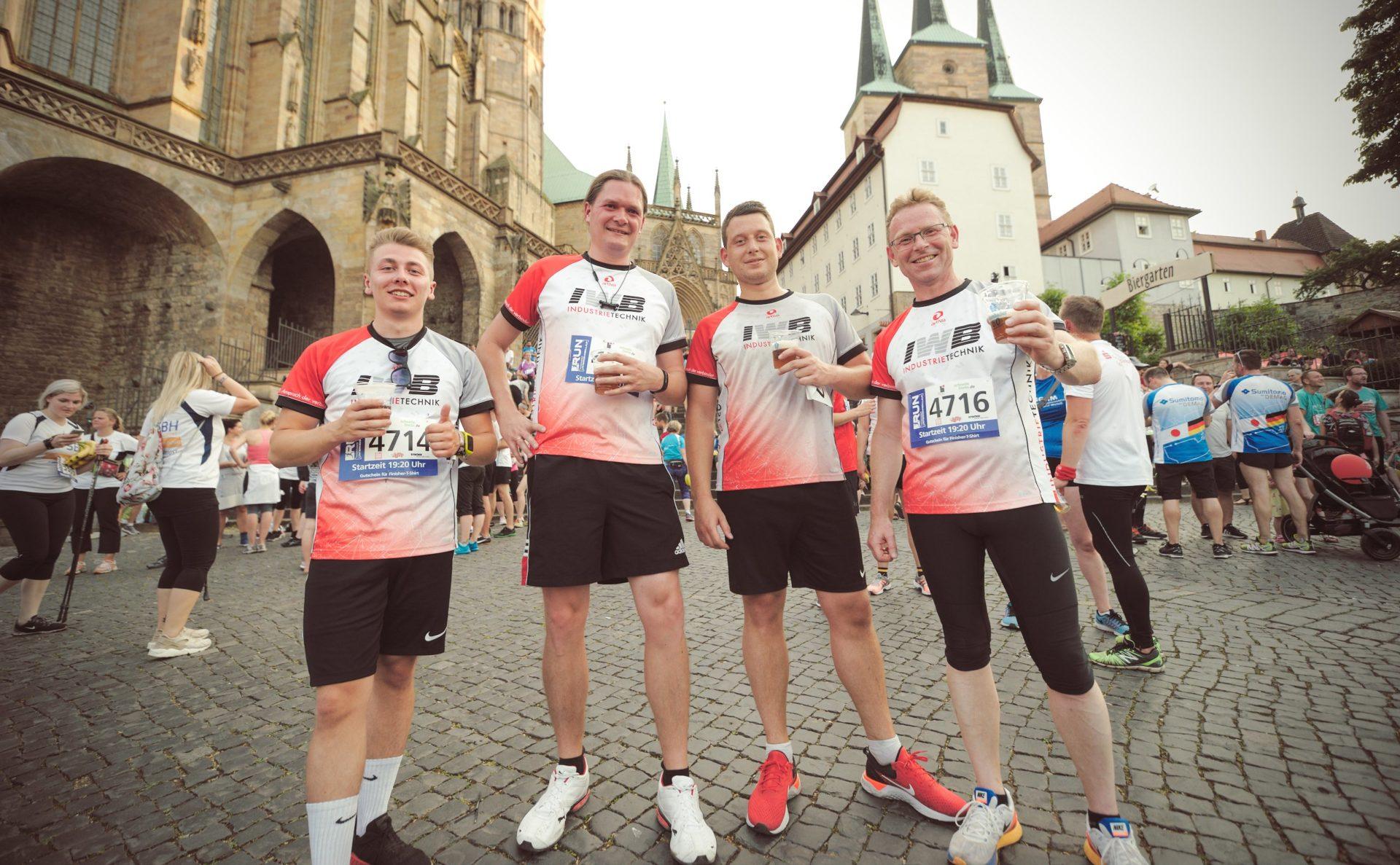 Unsere Läufer bei dem Thüringer Unternehmenslauf - RUN2019