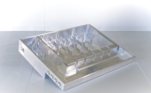 CNC Fertigung - Frästeil natur alu Gehäuse