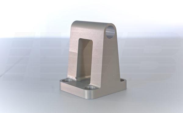 CNC Fertigung - Frästeil eloxiert